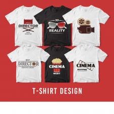 T-Shirt Design, vector, illustration