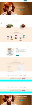 Landing page coffee