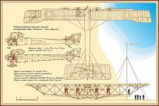 Реконструкция архивного чертежа для рекламы