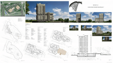 """Архитектурный проект """"Многоквартирный жилой дом"""""""