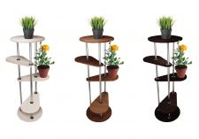 Визуализация мебели. Полки для растений