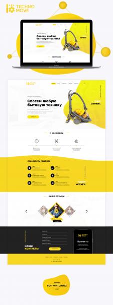 Web Ui\Ux Landing Design