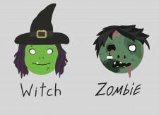 Ведьма и Зомби