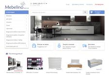 Наполнение интернет-магазина мебели MEBELINO
