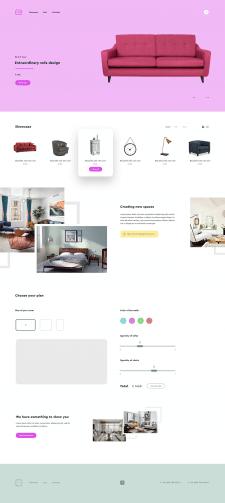 Дизайн онлайн-магазина мебели