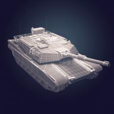 Модель танка под Turbosquid CheckMate PRO