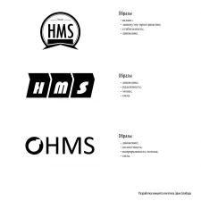 Концепты логотипа компании «HMS»