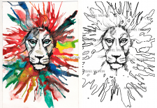 Создание раскраски с изображения