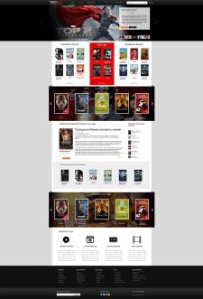 Дизайн портала просмотра фильмов
