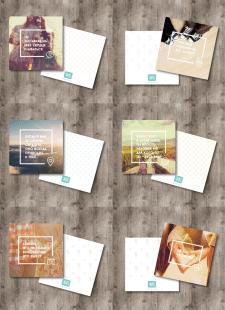 Серия открыток для сервиса RoseBox