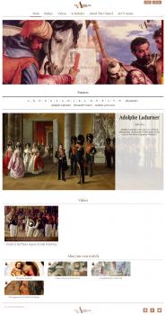 Сайт про исскуство