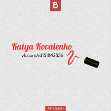 Создание логотипа + background