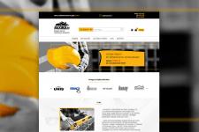 Сайт для стройматериалов