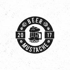 Логотип для Beer Mustache