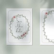 Дизайн пригласительной открытки