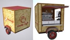Дизайн кофейня на колесах