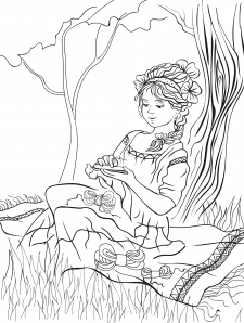 рисунок, иллюстрация для детской книги