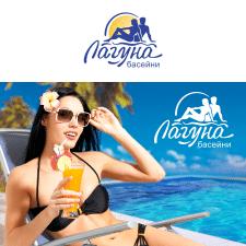 Разробка логотипу для продавця басейнів