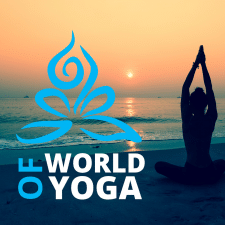 Логотип World of Yoga