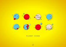 Иконки планет