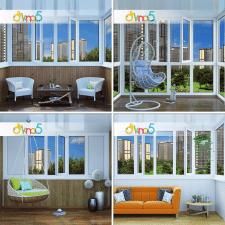 Визуализация балконов и лоджий для сайта