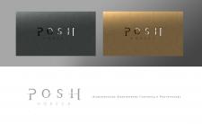 Разработка логотипа и визиток для POSH HORECA