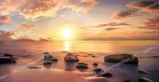 "Фото-обои ""Рассвет на море"""