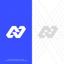 Sport N Letter Logo Grid