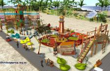 Инвестиционный проект пляжной зоны - Комплекс @San
