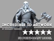 Figurine 3D Printing Model