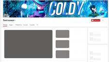 """Баннер для канала """"Coldy"""""""