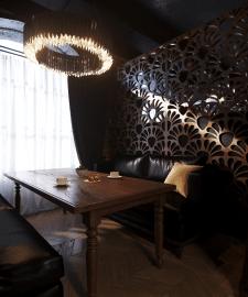 Дизайн интерьера, 3d Визуализация lounge