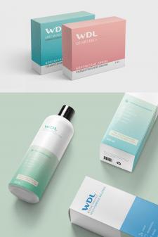 Дизайн серии упаковок