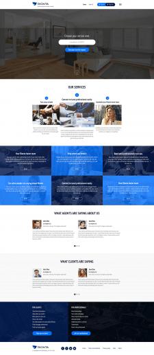 Дизайн сайта поиска квалиф. риэлторов
