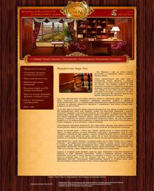Верстка из psd дизайна сайта для Joomla 2.5 (Юр.компания Лекс)