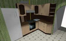Проект кухни  и изготовление.