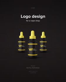 Logo design for a vape shop