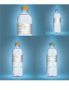 """Упаковка воды PET """"H20"""""""