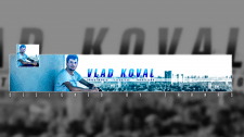 You-Tube шапка (banner) - Влад Коваль