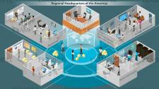 Схема логистики компании