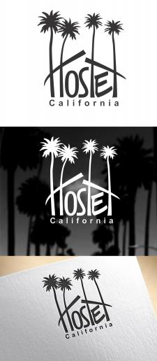 Логотип для хостела в Калифорнии