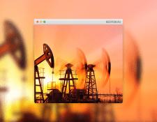 Корпоративный сайт нефтегазовой компании
