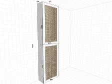 Шкафчик в Туалет1