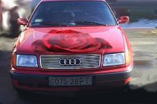 аэрография  розы  на авто 5