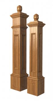 модель лестничных столбов