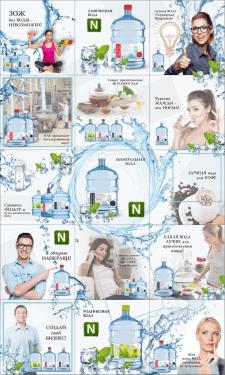 Визуальная карта для производителя воды