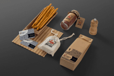 Фирменный стиль для «Еда дома»