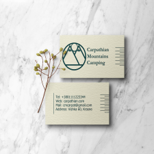 Carpathian Mountain Camping logo design