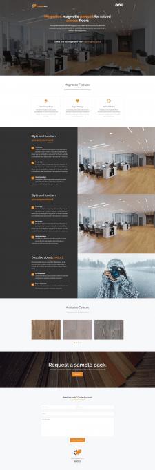 Разработка сайта «Magnetec»