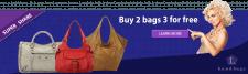 """баннер для сайта """"L handbags"""""""